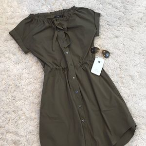 Throes Short Sleeve Pocketed Dress